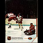Oakland Seals vs Los Angeles Kings Game Program Hockey Program