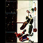 Oakland Seals vs Montreal Canadiens Game Program Hockey Program