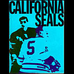 California Seals vs Seattle Totems Game Program Hockey Program