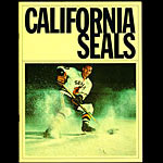 California Seals vs Victoria Maple Leafs WHL Game Program Hockey Program