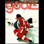 California Golden Seals vs Detroit Red Wings Game Program Hockey Program