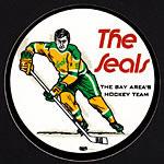 California Seals 1970's The Bay Area's Hockey Team Sticker