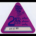 Allman Brothers Band 1995 Purple After Show Pass