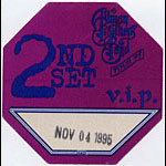 Allman Brothers Band 1995 Purple VIP Pass