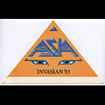 Asia 1983 Invasian Yellow Pass