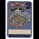 Beach Boys Surf Patrol Blue Backstage Pass