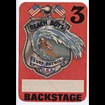 Beach Boys Surf Patrol Red Backstage Pass