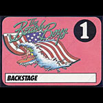 Beach Boys Backstage Pass Pass