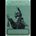 Blue Oyster Cult Revolution By Night Green Backstage Pass