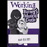 Barney's Musical Castle Backstage Pass