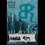 Bonnie Raitt Souls Alike All Access Working Backstage Pass