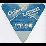 Cinderella Heartbreak Station Blue Aftershow Pass