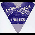 Cinderella Heartbreak Station Purple Aftershow Pass