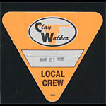 Clay Walker Local Crew Backstage Pass