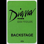 Diana Ross Backstage Backstage  Pass
