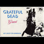 Grateful Dead Nosferatu Guest Backstage  Pass