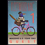 Fleetwood Mac 1982 Guest Pass