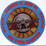 Guns N' Roses 1991 Use Your Illusion Guest Pass