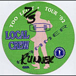MC Hammer 1992 Too Legit Green Crew Pass