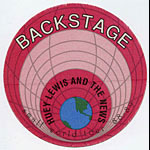 Huey Lewis And The News 1988 Small World Backstage Pass