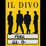 Il Divo World Tour 2006 Backstage Pass