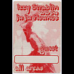 Izzy Stradlin Guest Backstage  Pass
