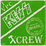 KISS 1990 Hot In The Shade Green Crew Pass