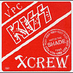 KISS 1990 Hot In The Shade Red Crew Pass