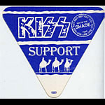 KISS 1990 Hot In The Shade Blue Support Pass