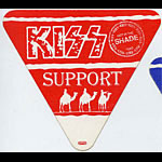 KISS 1990 Hot In The Shade Red Support Pass