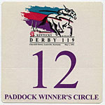 Kentucky Derby 1993 Winners Circle Pass