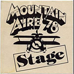 Mountain Aire 1978 Black Stage Pass