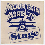 Mountain Aire 1978 Blue Stage Pass