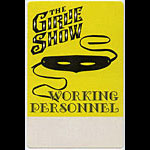 Madonna Girlie Show Personnel Pass