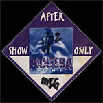 Pantera Far Beyond Touring 1994-1995 Backstage Pass