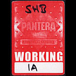 Pantera Reinventing the Steel Backstage Pass