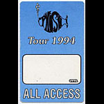 Phish 1994 Blue All Access Backstage  Pass