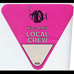 Phish 1994 Pink Crew Backstage  Pass