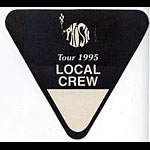 Phish 1995 Black Crew Backstage  Pass