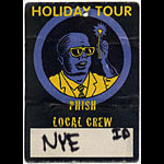 Phish NYE Holiday Tour Crew Pass