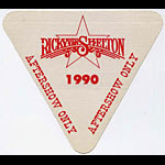 Ricky Van Shelton 1990 Aftershow Pass