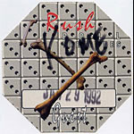 Rush 1992 Roll The Bones Guest Pass