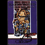 Skid Row Slave to the Grind World Tour 1992 Backstage Pass