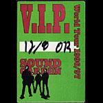 Soundgarden Backstage Pass