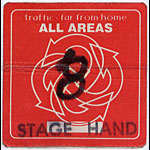 Traffic Far From Home 1994 tour Stage Hand Backstage  Pass