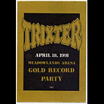 Trixter 1991 Party Backstage  Pass