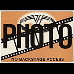 Van Halen Brown Photo Backstage  Pass