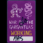 Pantera and White Zombie War of the Gargantuas Tour Backstage Pass