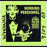 Wynonna Personnel Backstage  Pass