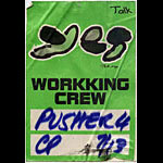 Peter Max Yes Crew Pass